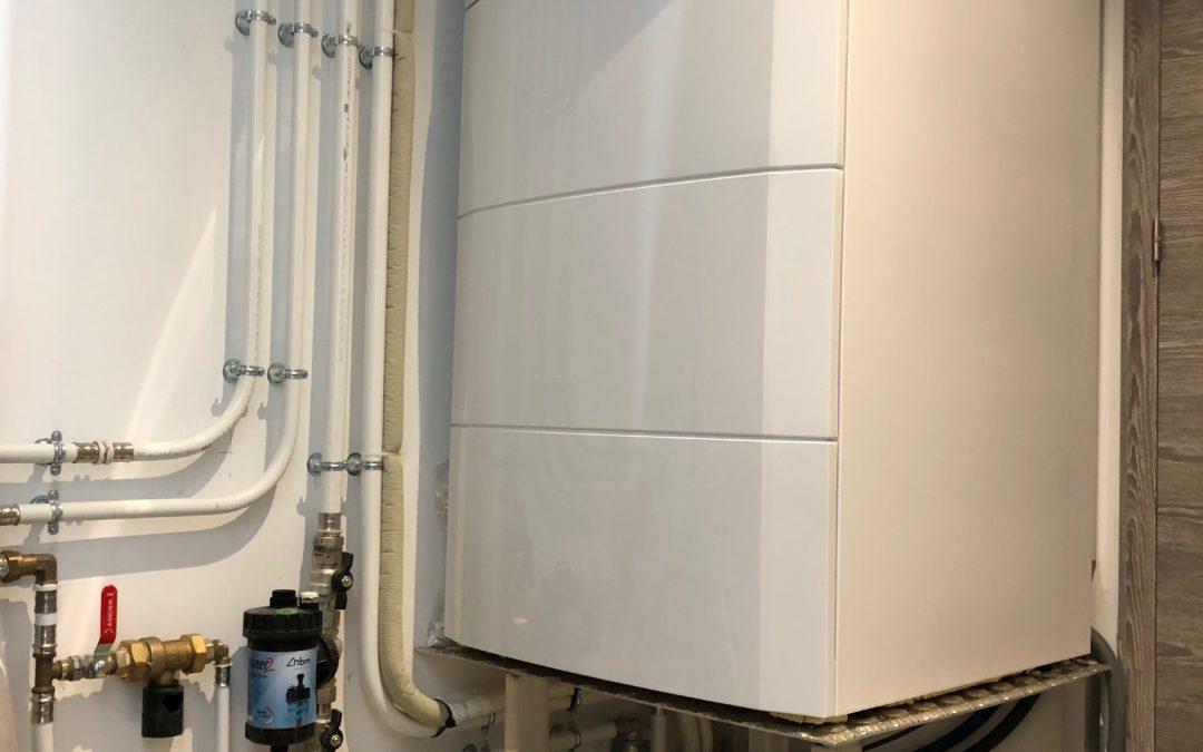 Réalisation d une pompe à chaleur aérothermie SOFATH à Anglet