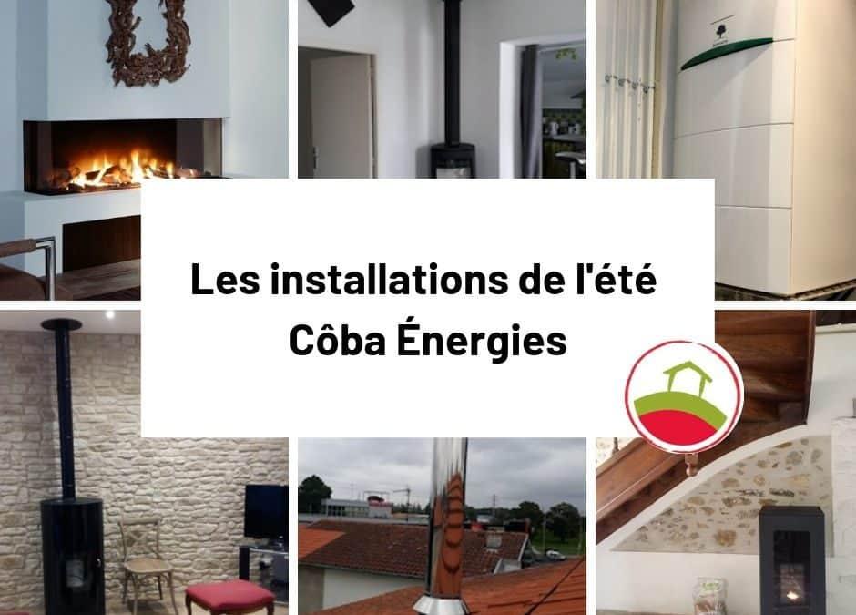 Retour en images sur les installations Côba Énergies de l'été