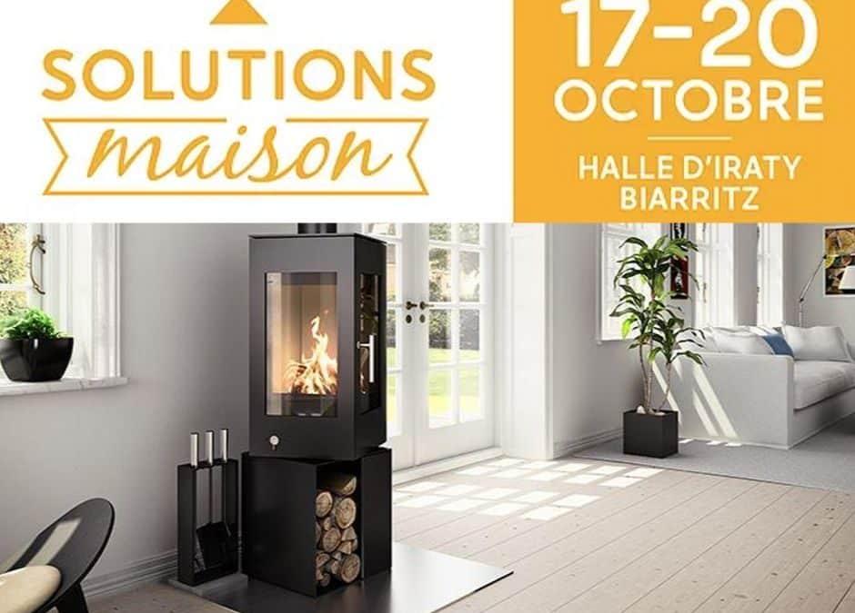 Retrouvez-nous au Salon Solutions Maison à Biarritz!
